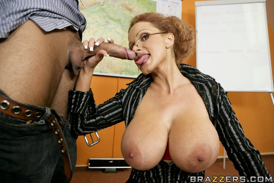 Big tits at school doggy with the dean scene starring len 10